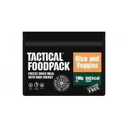 Tactical Foodpack riisiroog köögiviljadega