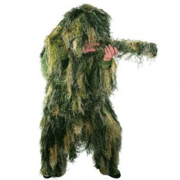 Mil-Tec Ghillie riietus, Anti-Fire