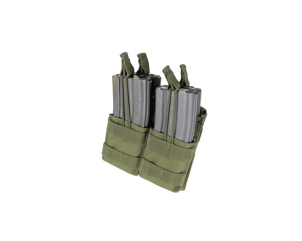 Condor MOLLE M4/M16 lahtine salvetasku (stacker) x4