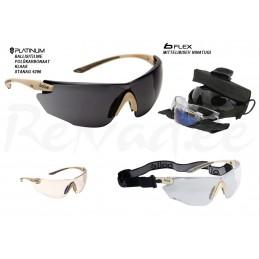 BOLLE Combat ballistilised prillid (beez raam)