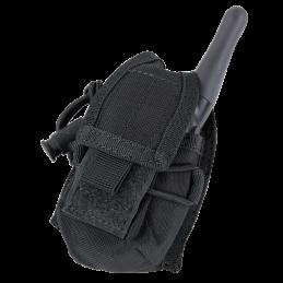 Condor MOLLE väike raadiosaatja tasku (must)
