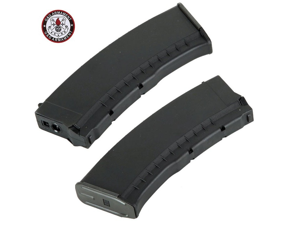 G&G polümeerist AK mid-cap salv, must (120 kuuli)