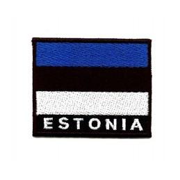 Eesti lipu embleem (mustal põhjal)