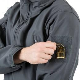 Helikon Gunfighter Softshell jakk, Must