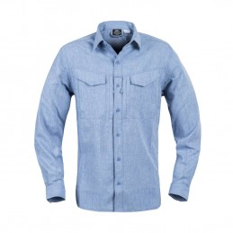 HELIKON DEFENDER MK2 GENTLEMAN SHIRT (MELANGE LIGHT BLUE)