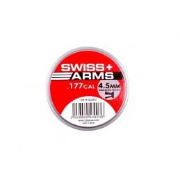 Õhkrelva kuulid Swiss Arms, 500 tk (tina)