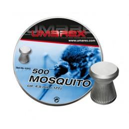 Õhkrelva kuulid Mosquito, 500 tk (tina)