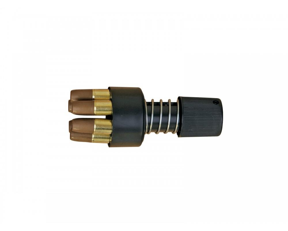 Dan Wesson kiirlaadija ja kuus padrunit (6mm)