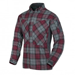 Helikon MBDU Flannel Shirt (Ruby Plaid)