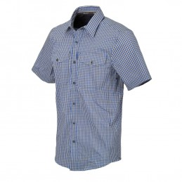 Helikon Covert Concealed Carry Short Sleeve Shirt(Royal Blue)