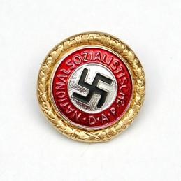 Saksa NSDAP parteimärgi koopia (kuldne)