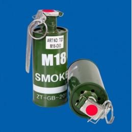 Suitsugranaat M18 punane