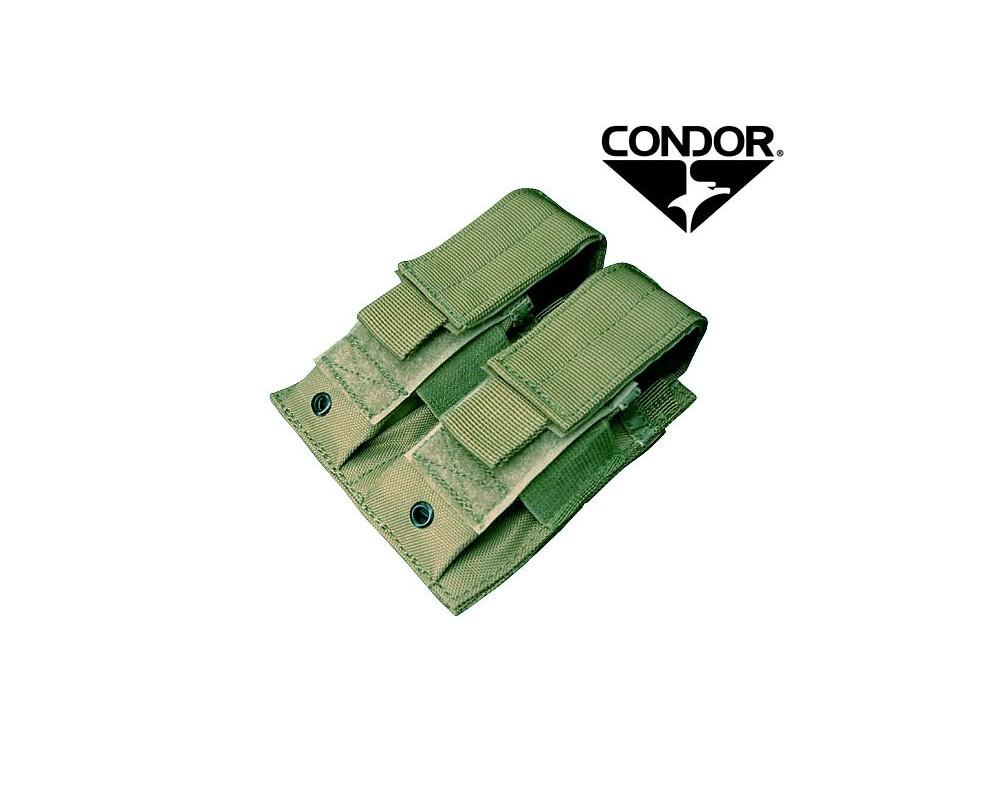 Condor MOLLE püstoli salvetasku x2 (oliiv)