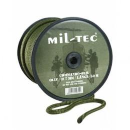 Commando nöör 7mm (oliiv)