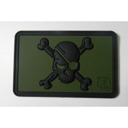Pirate Skull Patch, Forest