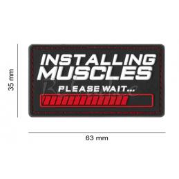 PVC Embleem Installing Muscles